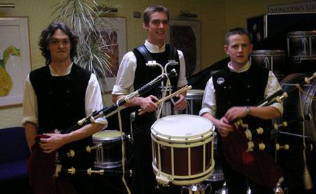 Xavier Boderiou, Tangi Le Boucher, Sylvain Hamon - Belfast 2006