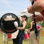 Nat' en répétition Pipe Band